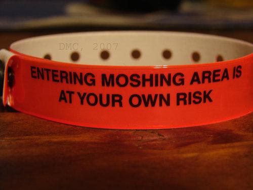 Mosh Wristband