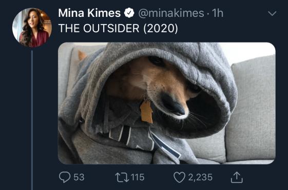 The Putsider dog